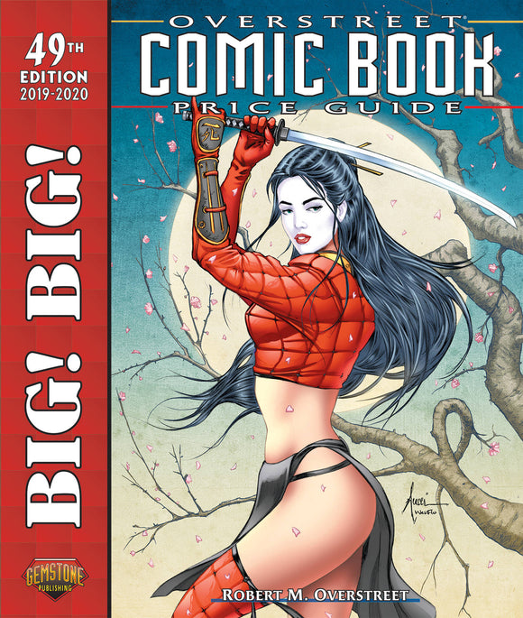 Big Big Overstreet Price Gd Vol 49 Tucci Shi Cvr