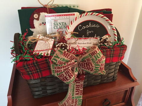 DIY Christmas Gift Basket