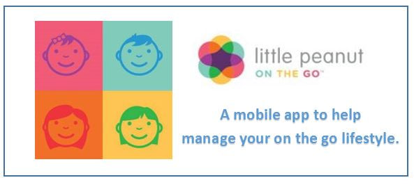 "App for Parents ""Little Peanut on the Go"""
