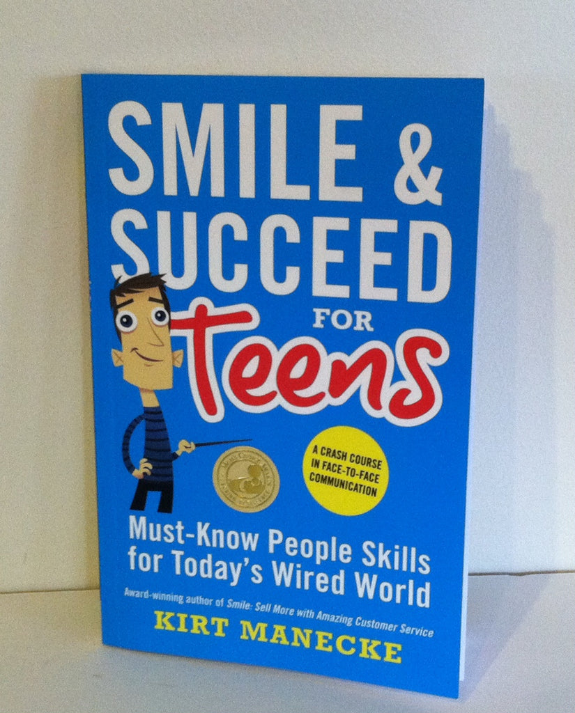 Book Review- Smile and Succeed for Teens