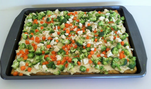 Veggie Pizza - After School Snack