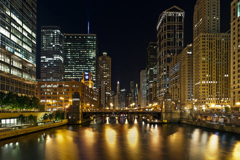 Chicago at Christmastime
