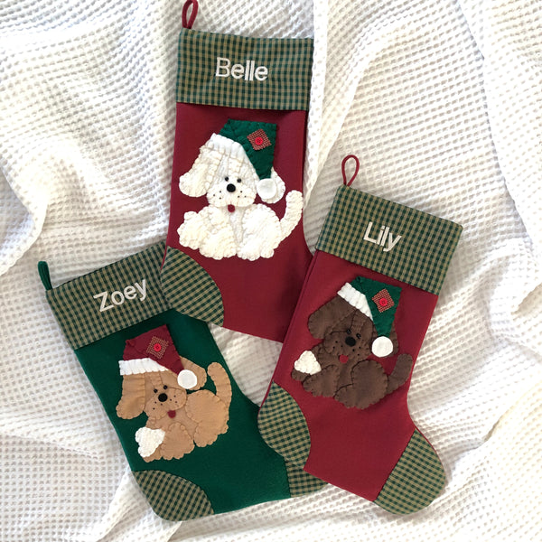 Dog Christmas Stocking- Chance