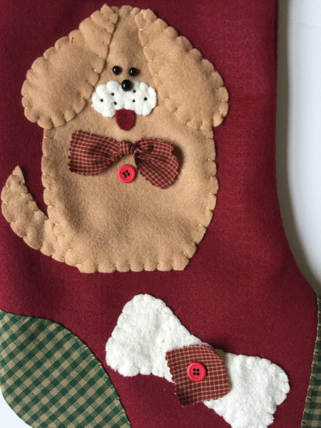 Snoopy- Dog Christmas Stocking