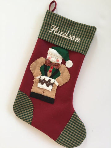 Little Drummer Boy- Christmas Stocking