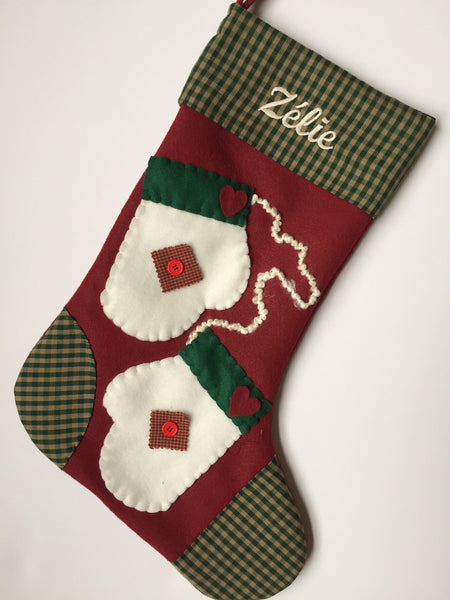 Cozy Mittens- Christmas Stocking