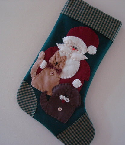 Saint Nicholas- Christmas Stocking