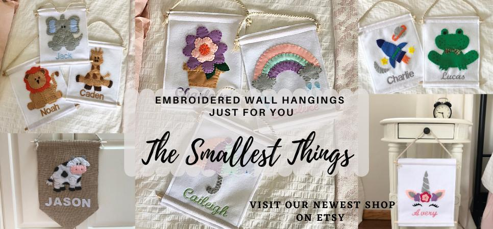 Visit The Smallest Things on Etsy