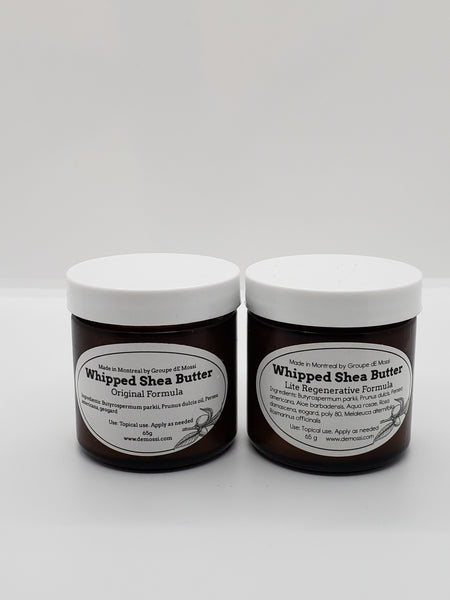 Whipped Shea Butter- Original Formula (65g) - The dE Mossì Clothing Co. North 49
