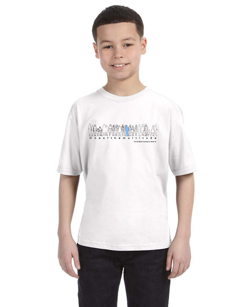 ONEOFTHEMULTITUDE Boys T-Shirt - The dE Mossì Clothing Co. North 49