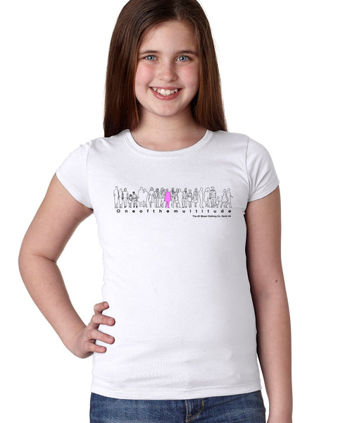 ONEOFTHEMULTITUDE Girls T-Shirt - The dE Mossì Clothing Co. North 49