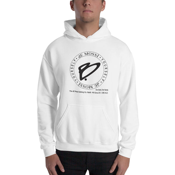 B. Yourself Pullover Hooded Sweatshirt - The dE Mossì Clothing Co. North 49