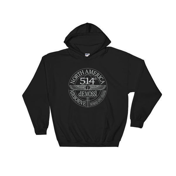Airborne Pullover Hooded Sweatshirt - The dE Mossì Clothing Co. North 49
