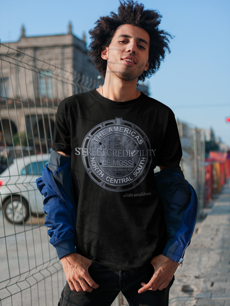 Street Credibility Men's T-Shirt - The dE Mossì Clothing Co. North 49