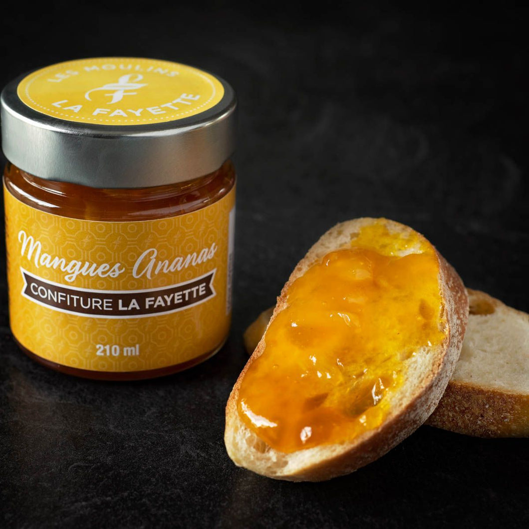 CONFITURE MANGUE ANANAS
