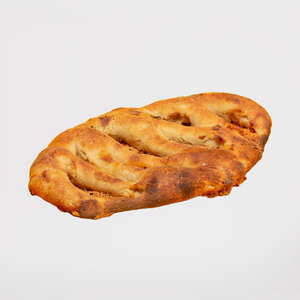 Fougasse ail conflite et cheddar