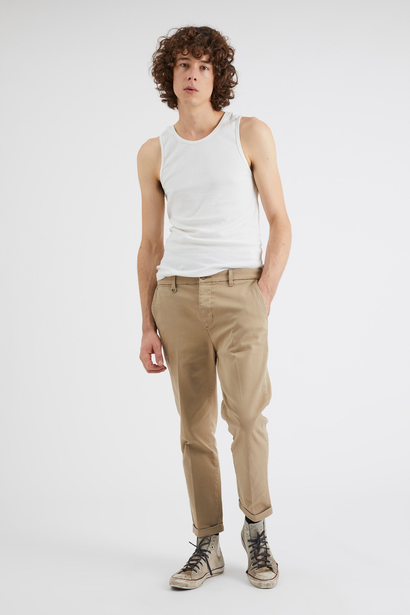 Studio Pant - Washed Sand