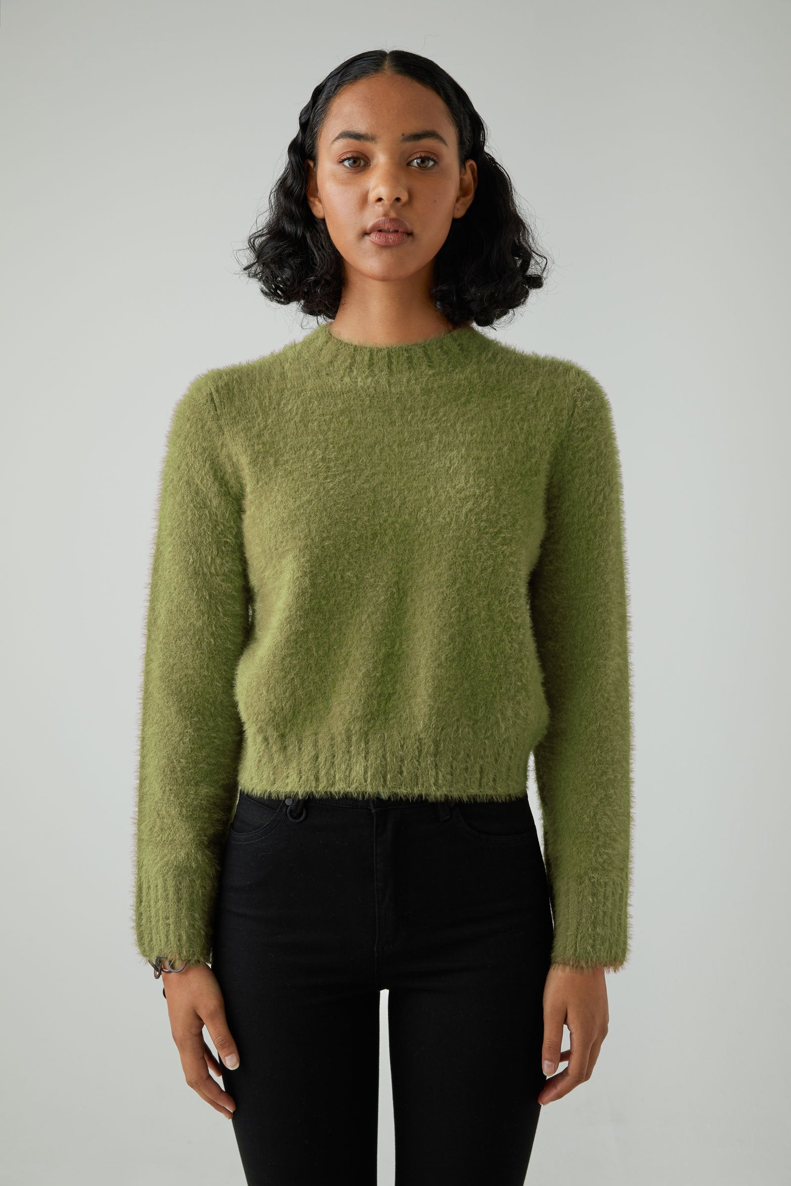 Kate Jumper - Oil Green