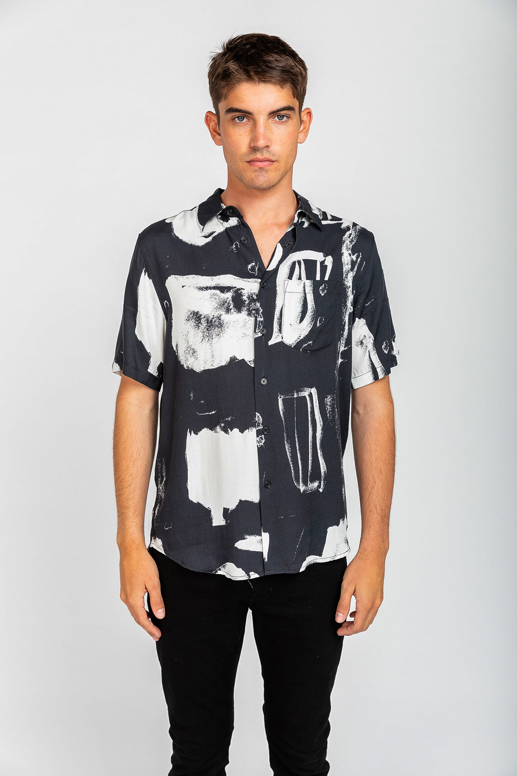 Jouseff Art Shirt - Black Art