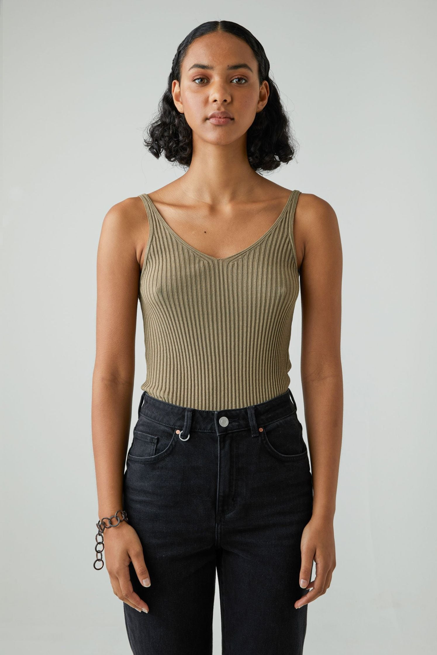 Moves Knit Top - Sage