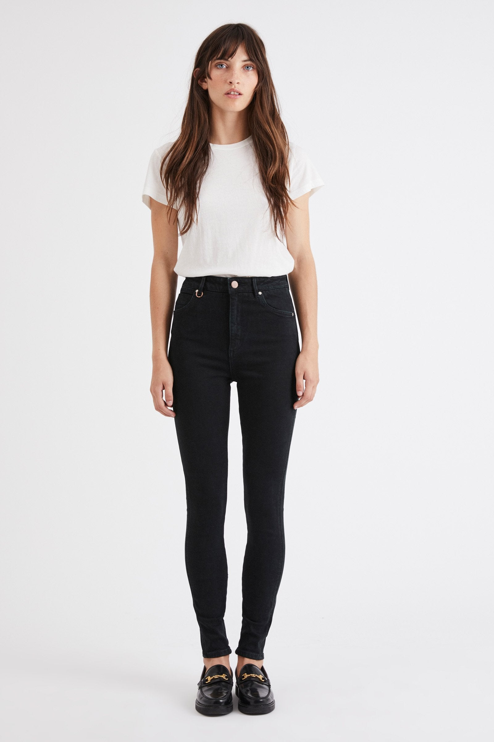 Marilyn Skinny - Zero Rose Black