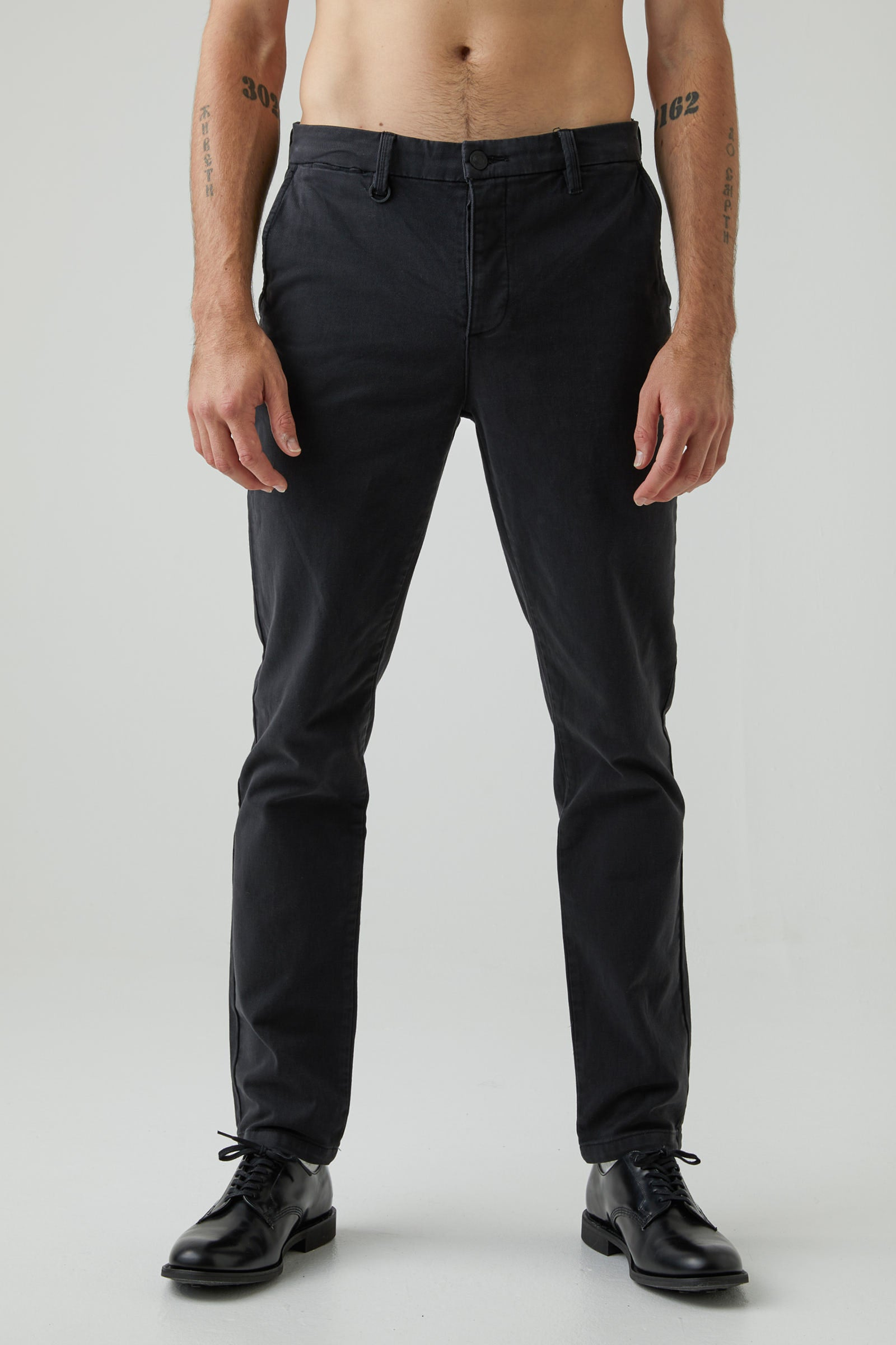 Clash Slim Pant - Washed Black