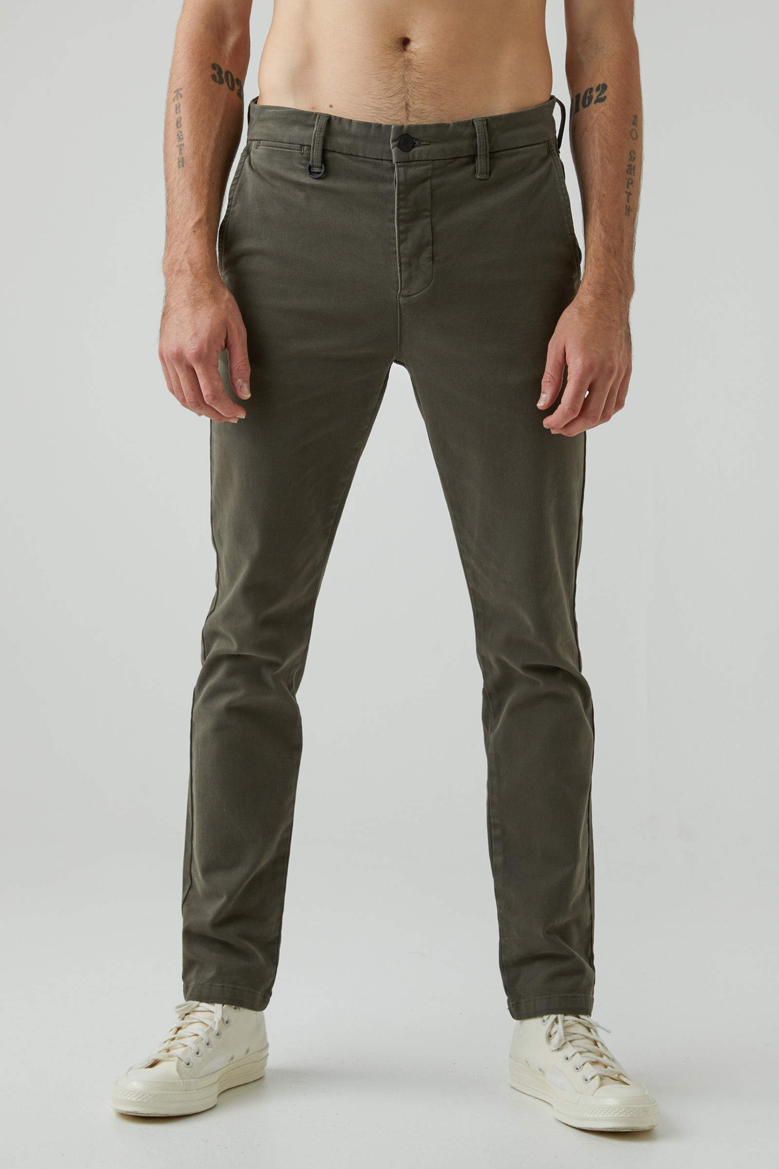 Clash Slim Pant - Military