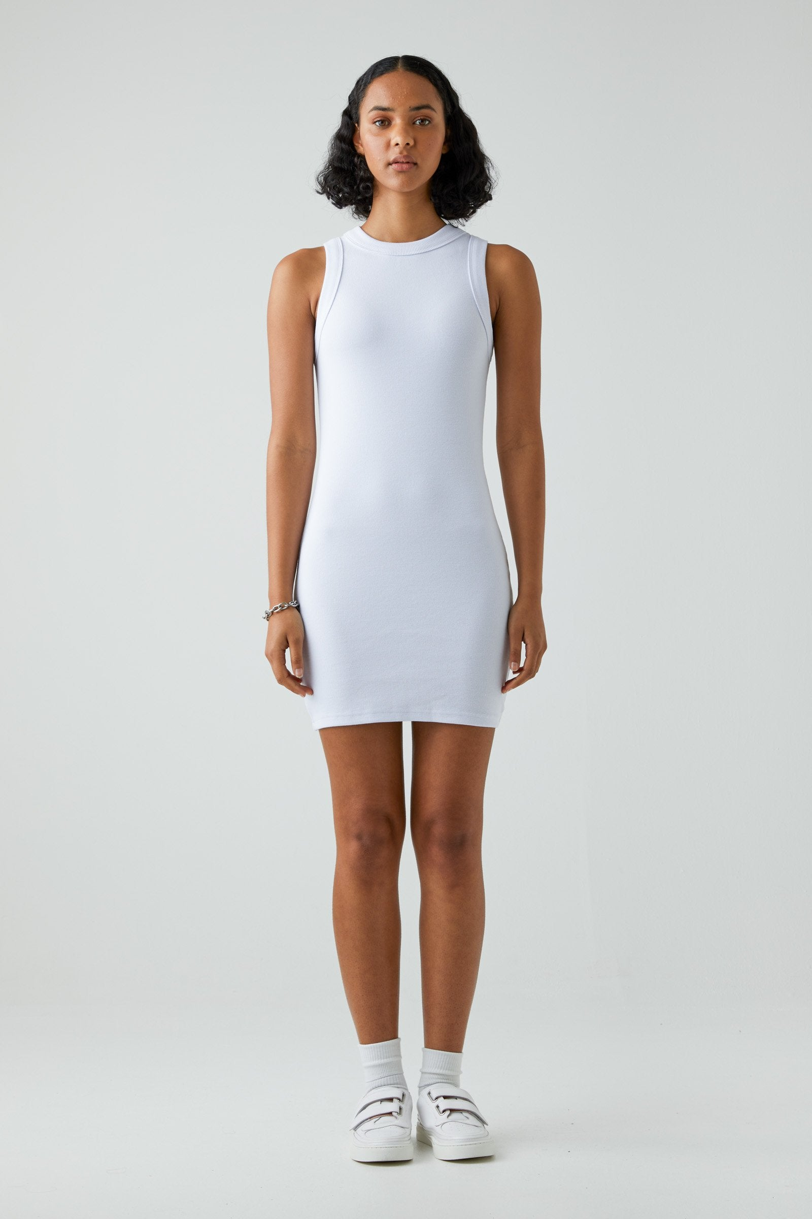 Jonesy Dress - White