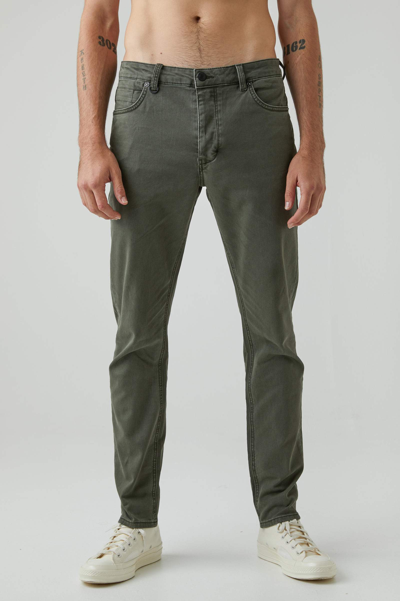 Ray Taper Twill - Military