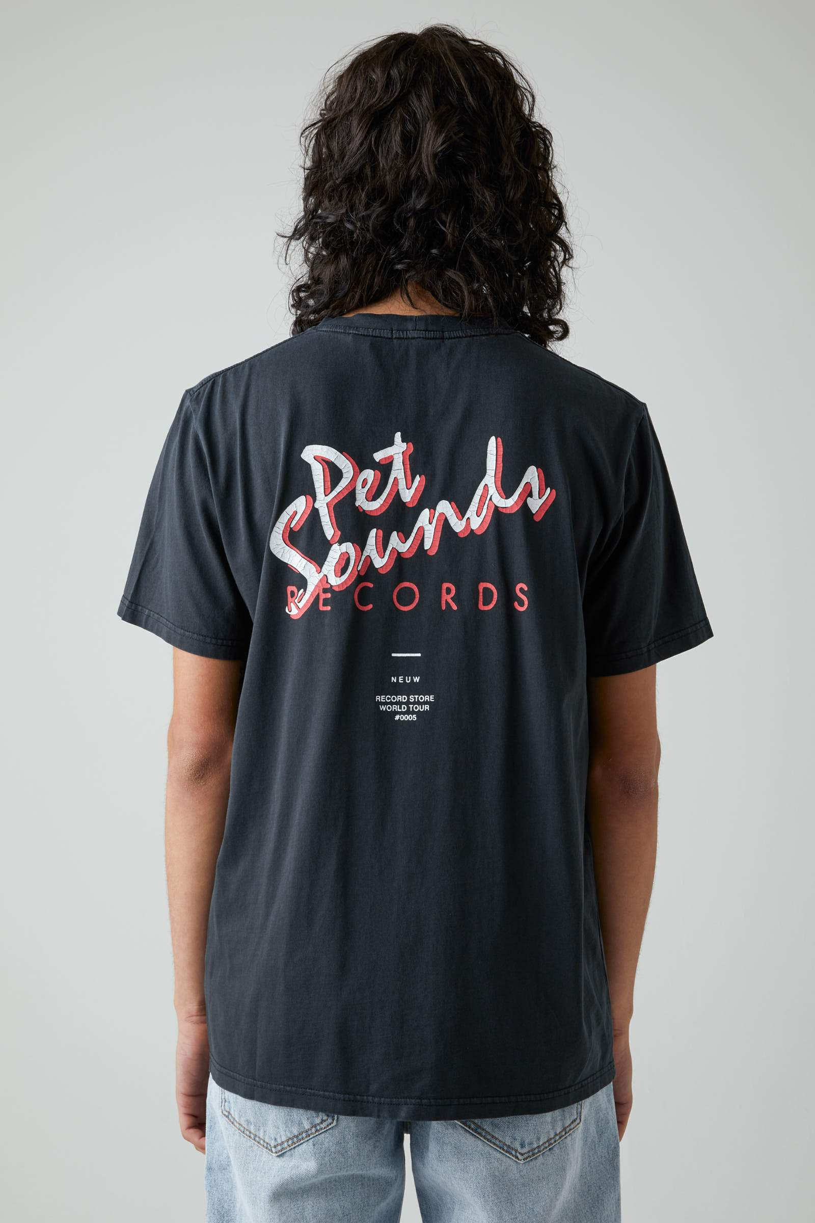 Pet Sounds Band Tee - Washed Black