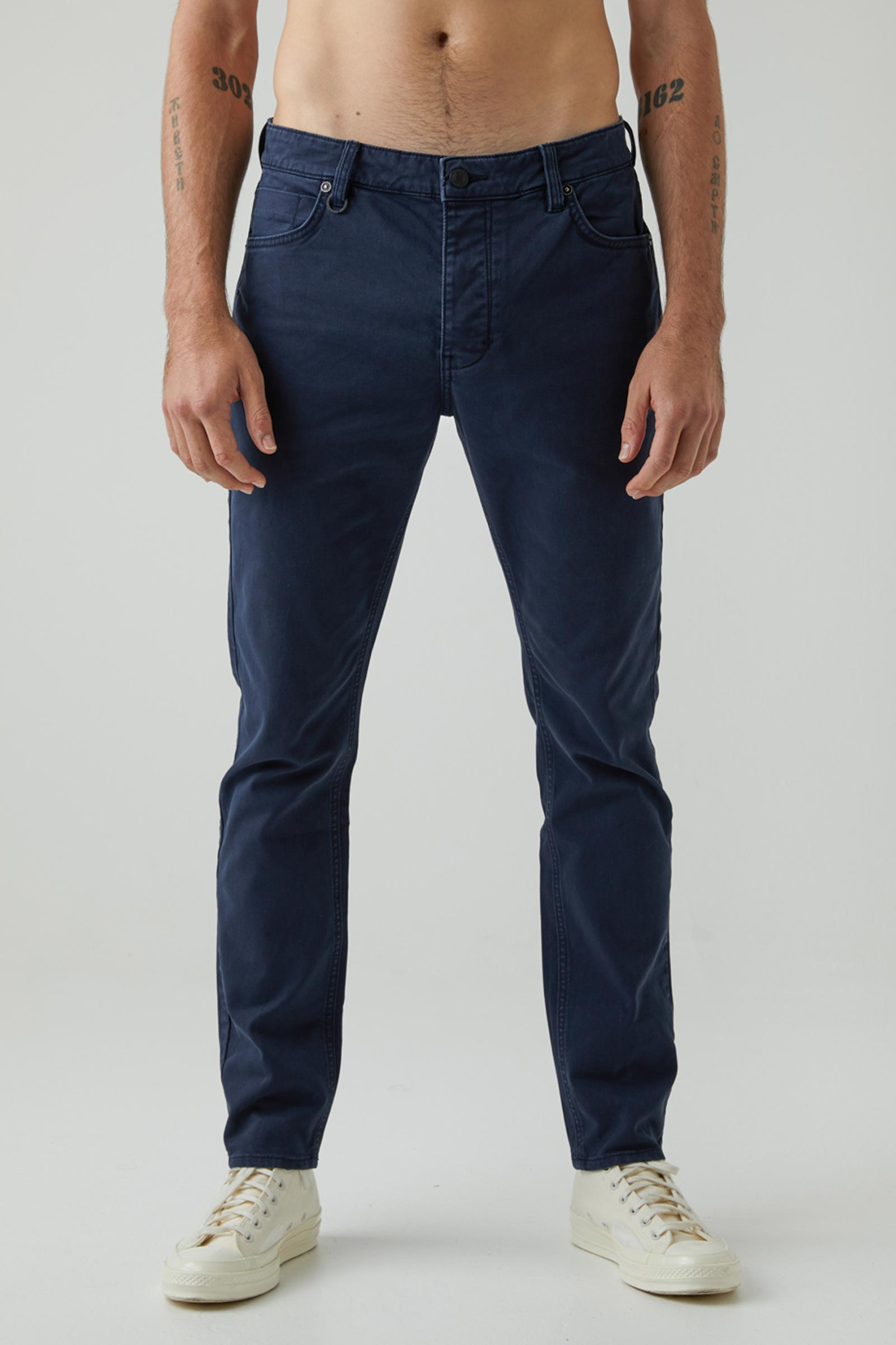 Ray Taper Twill - Navy