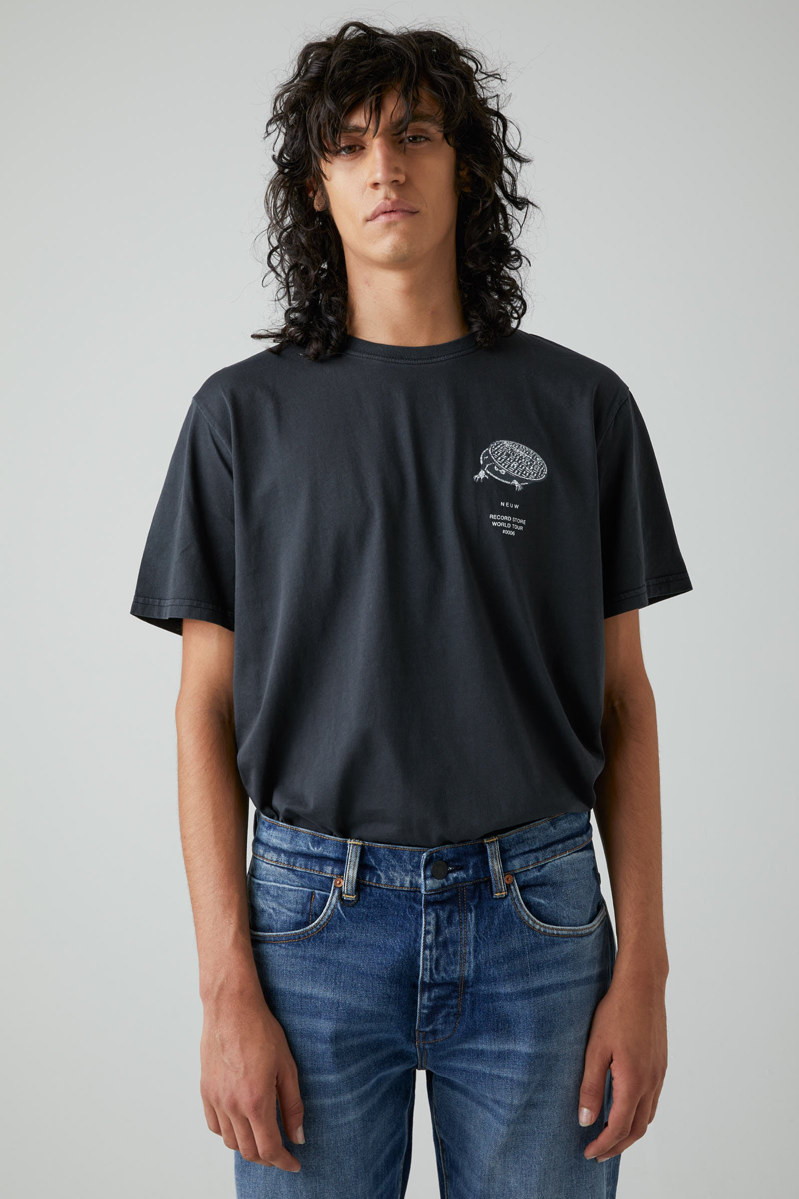Almost Ready Ss Tee - Black