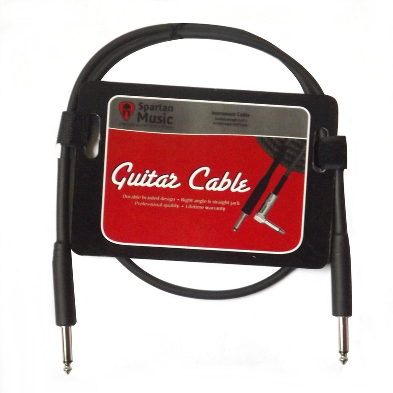 1m Short Guitar / Instrument Lead Cable