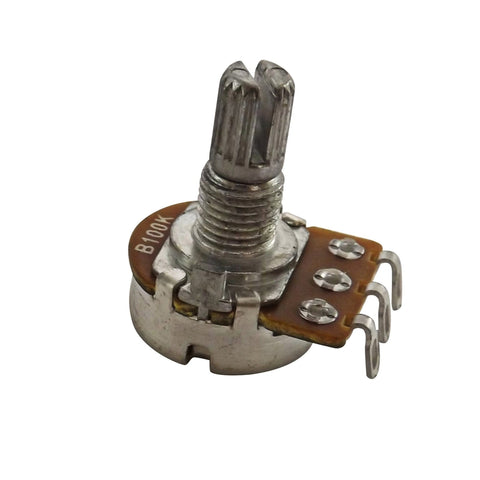 B100k Split Shaft Linear Rotary Potentiometer