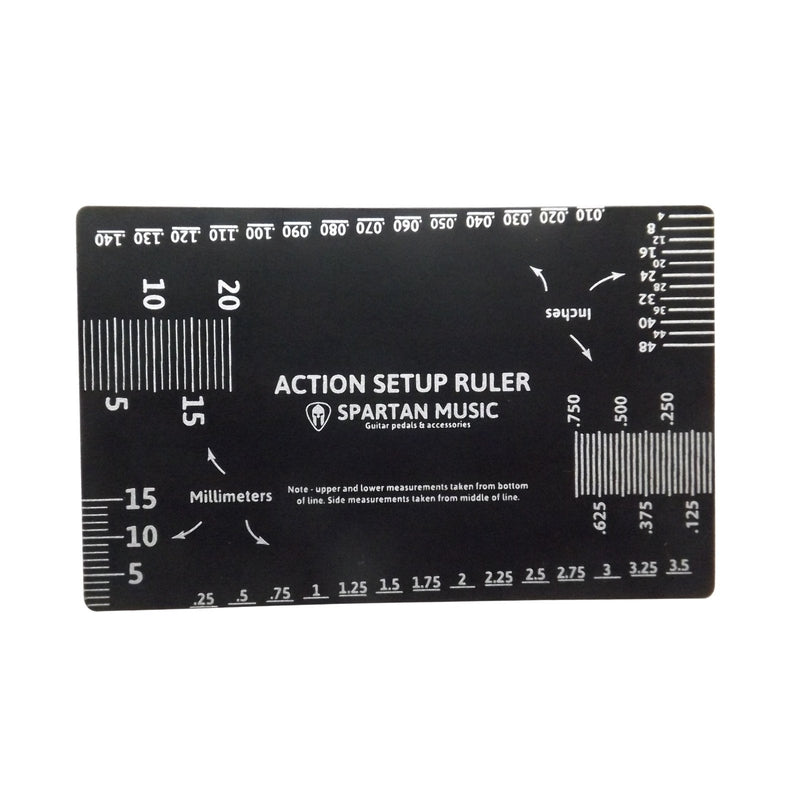 Guitar Gauge Action Setup Ruler