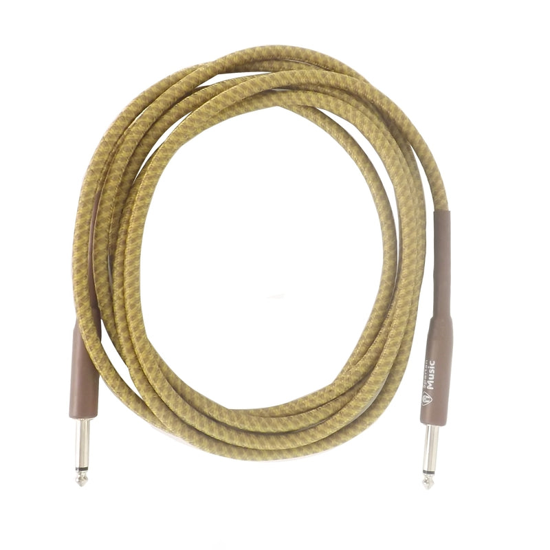 3m Straight / Straight Vintage Braided Guitar Lead Cable