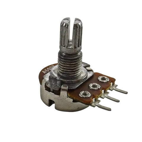 A500k Split Shaft Log Rotary Potentiometer