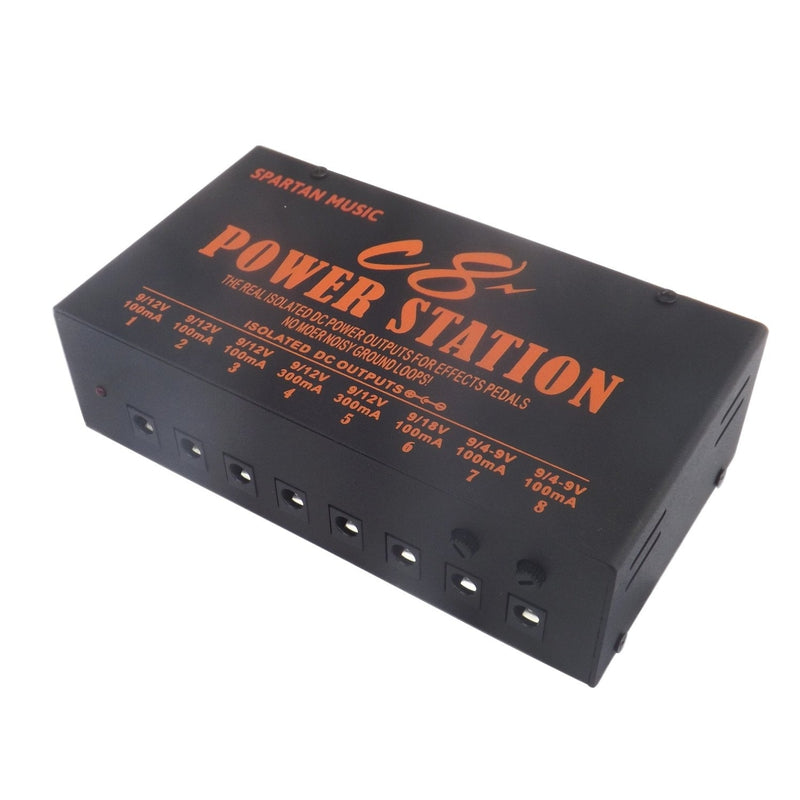 Isolated Guitar Pedal Power Supply 9v 18v 4-9v DC