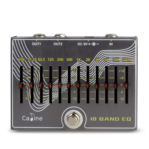 Caline CP-81 10 Band EQ Pedal