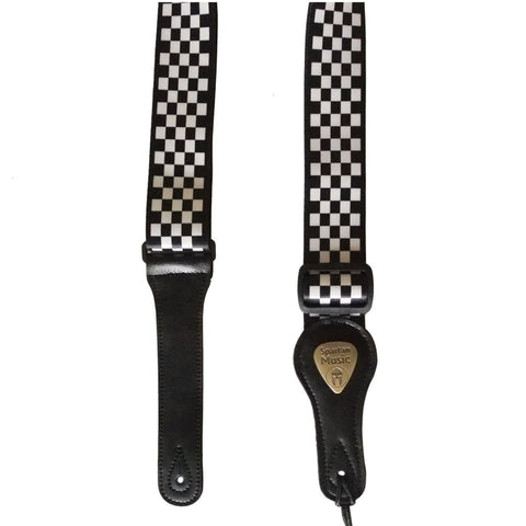Chequered Guitar Strap