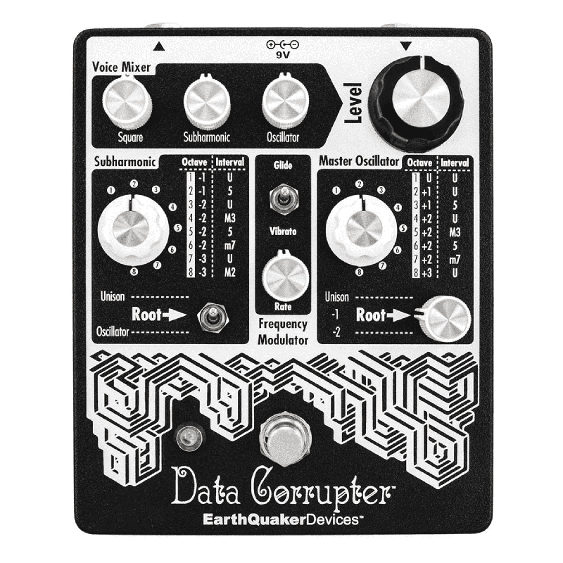EarthQuaker Devices Data Corrupter Guitar Synthesizer