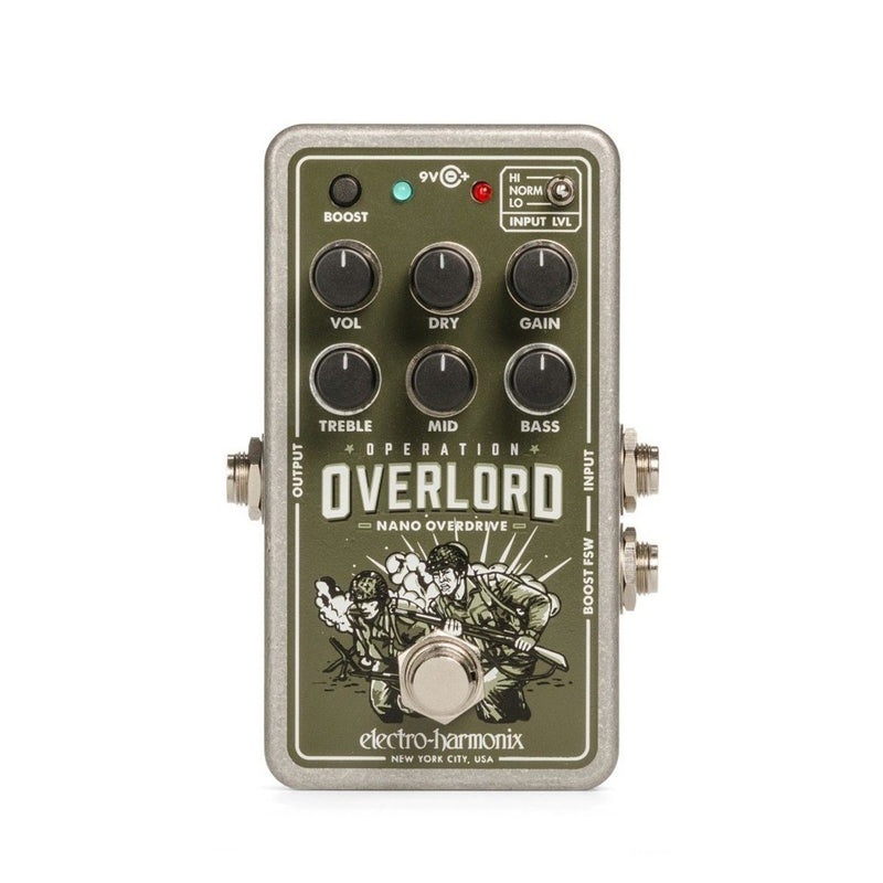 Electro Harmonix Operation Overlord Overdrive