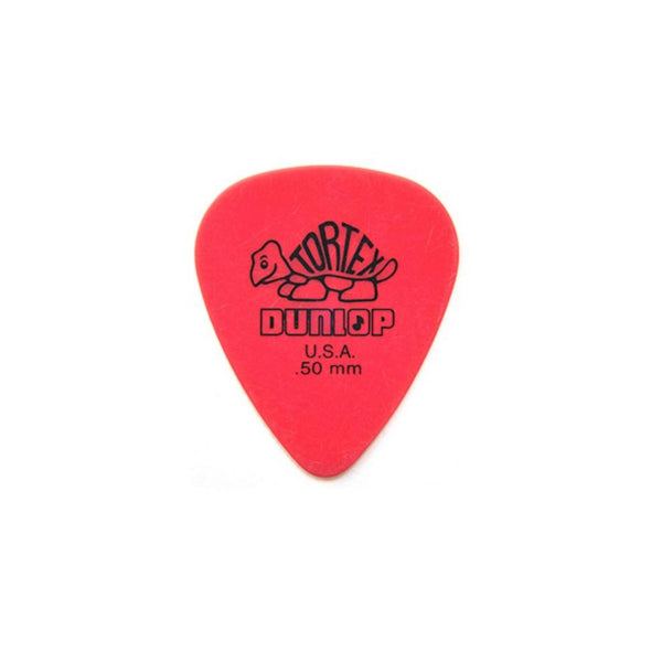 Jim Dunlop Tortex Pick Standard Red .50mm