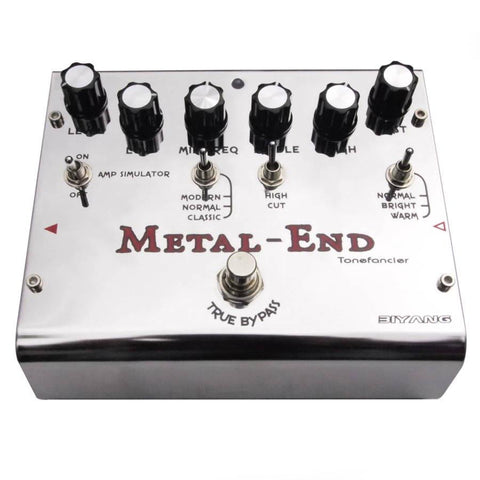 Biyang Metal End Distortion Pedal