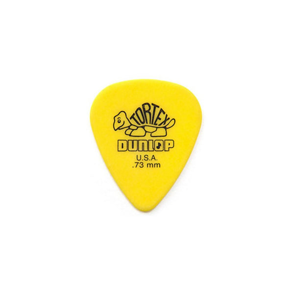 Jim Dunlop Tortex Pick Standard Yellow .73mm