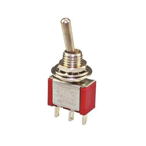 ON / ON (SPDT) 2 Way Selector Toggle Switch