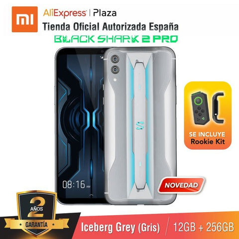 [Global Version for Spain] Xiaomi Black Shark 2 Pro (Memoria interna de 256GB, RAM de 12GB)