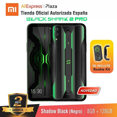 [Global Version for Spain] Xiaomi Black Shark 2 Pro (Memoria interna de 128GB, RAM de 8GB)