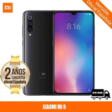 "[Official Spanish Version Warranty] Xiaomi Mi 9 AMOLED smartphone 6,39 ""Octa Core Qualcomm 6 hard GB RAM 64 hard GB ROM, camera triple"