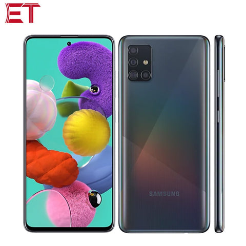 "New Listing Samsung Galaxy A51 A515F/DSN Mobile Phone 6GB RAM 128GB ROM Octa Core 6.5""1080x2400 4000mAh 4 Camera NFC Android10.0"